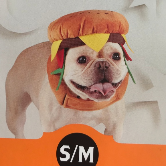 Hyde And Eek Boutique Other Hamburger Pet Dog Burger Halloween